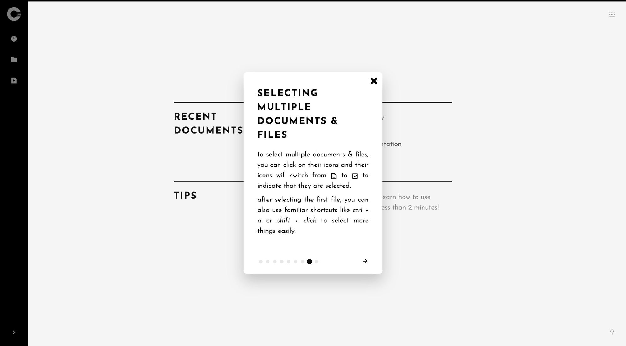Cryptee Documents –Tips